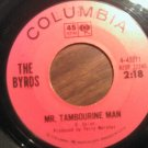 45 THE BYRDS Mr Tambourine Man b/w I Knew I'd Want You vintage vinyl record