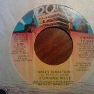 45 STEPHANIE MILLS sweet sensation b/w wish that you were mine vintage vinyl record