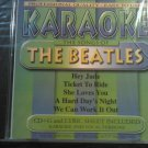 CD KARAOKE Songs Of The Beatles cd+g import SEALED