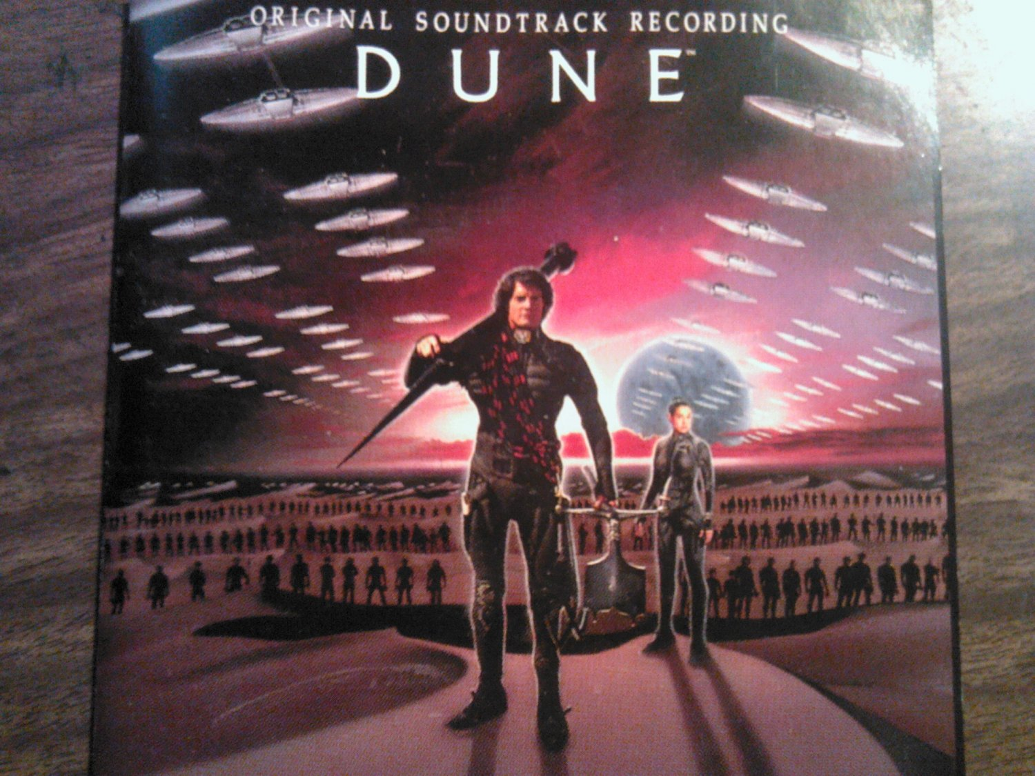 CD DUNE Original Soundtrack Recording movie toto brian eno