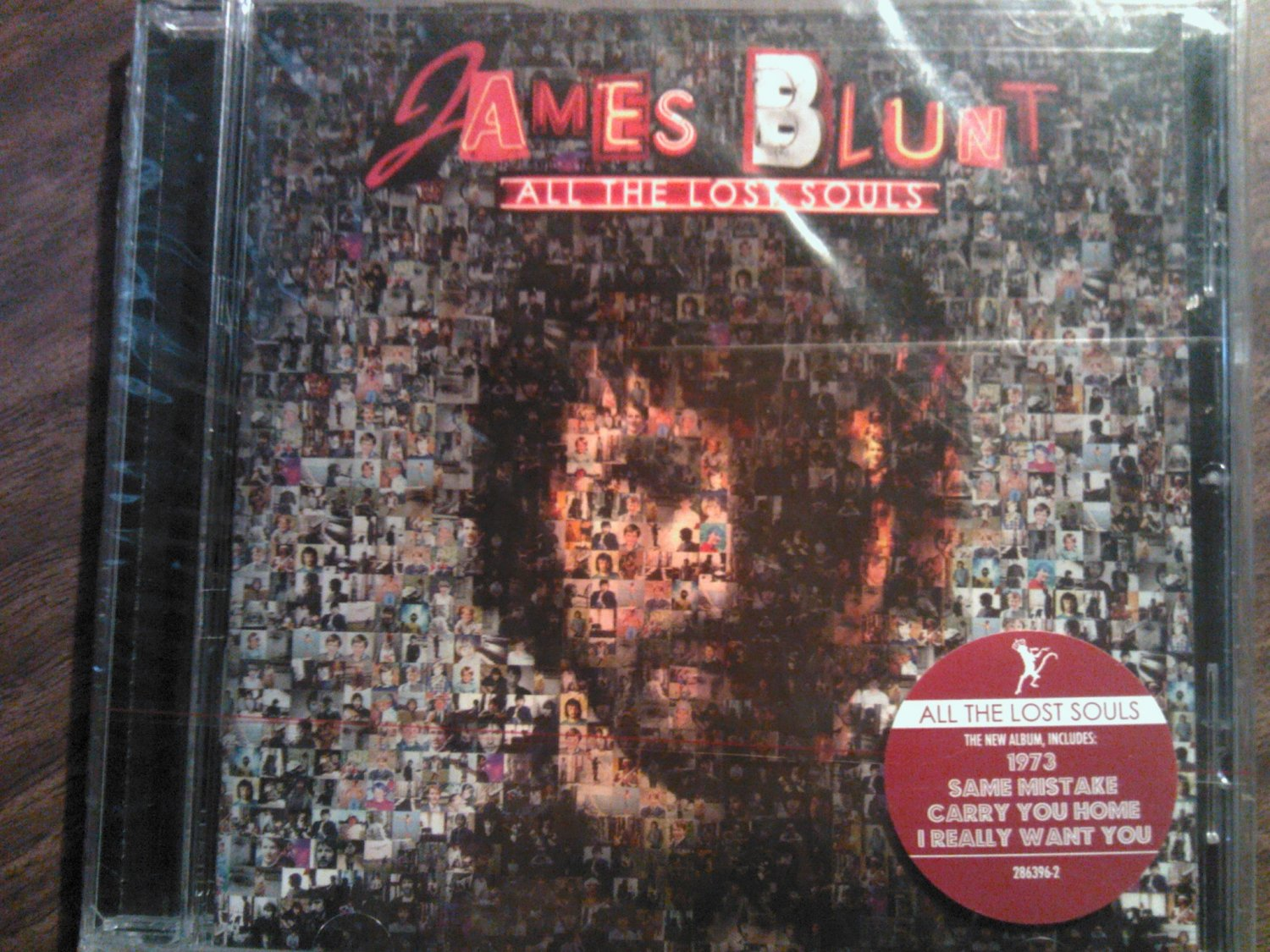 CD JAMES BLUNT All The Lost Souls SEALED