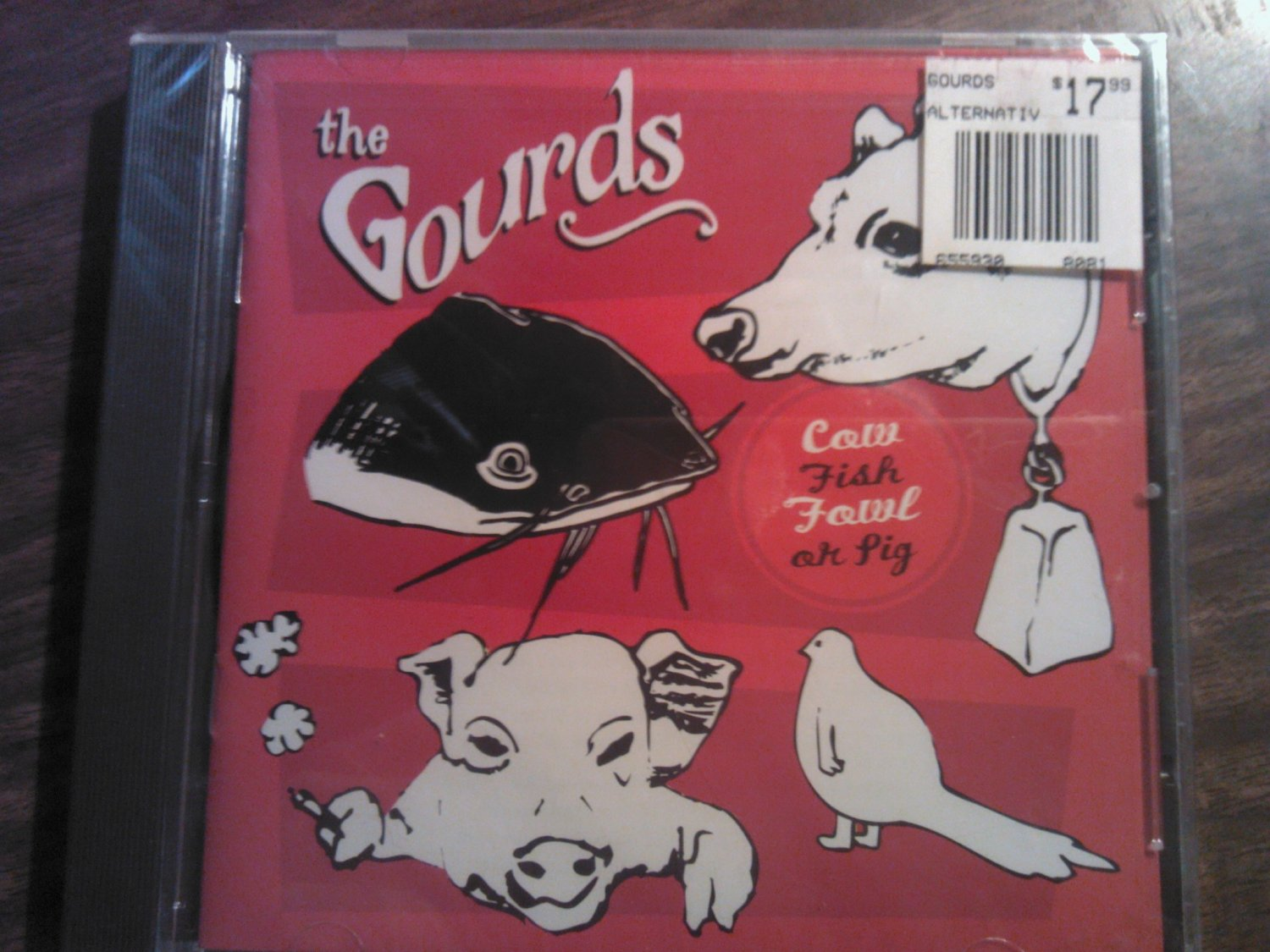 CD THE GOURDS Cow Fish Fowl or Pig SEALED