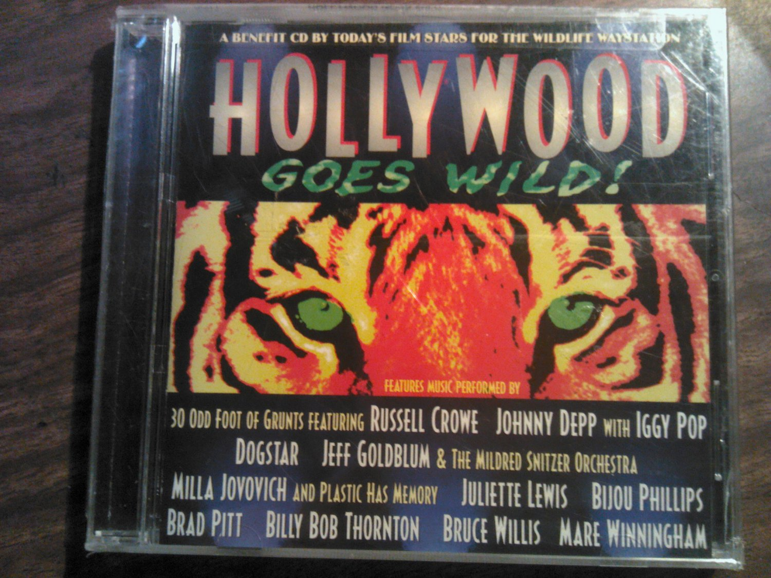 CD V/A Johnny Depp Jeff Goldblum Dogstar Billy Bob Thornton Iggy Pop promo SEALED