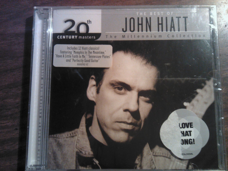 CD JOHN HIATT Best Of millennium collection SEALED