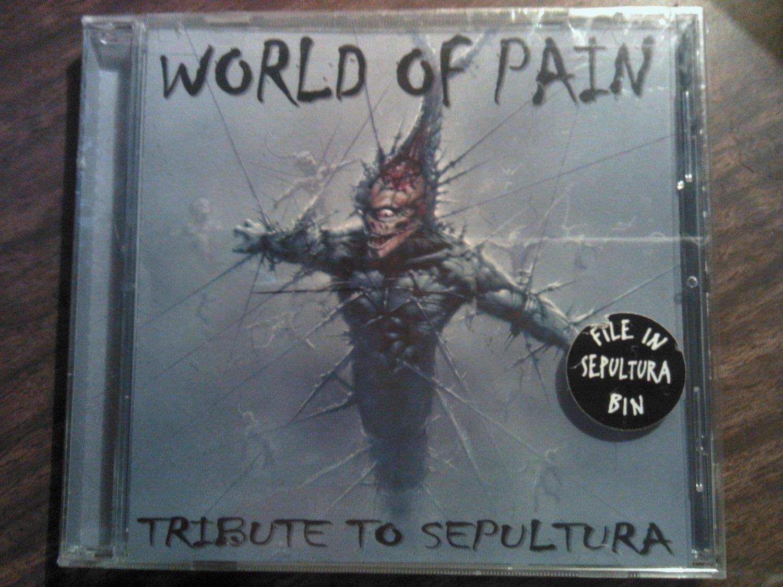 CD V/A SEPULTURA TRIBUTE World of Pain metal SEALED SALE
