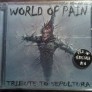 CD V/A SEPULTURA TRIBUTE World of Pain metal SEALED SALE