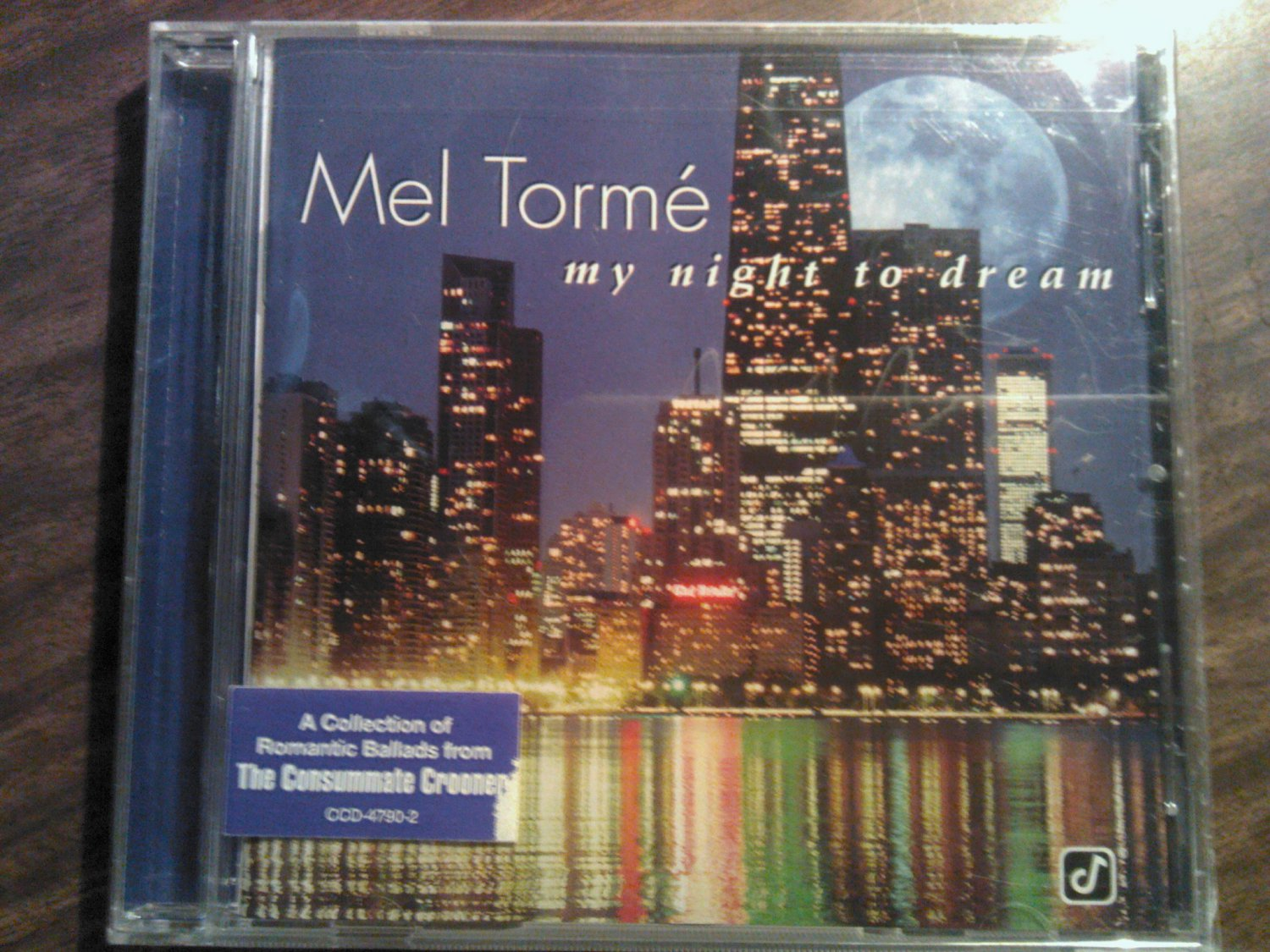 CD MEL TORME My Night To Dream SEALED