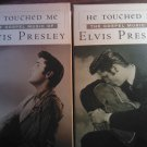 VHS ELVIS PRESLEY He Touched Me the gospel music of Volume 1 & 2 SET