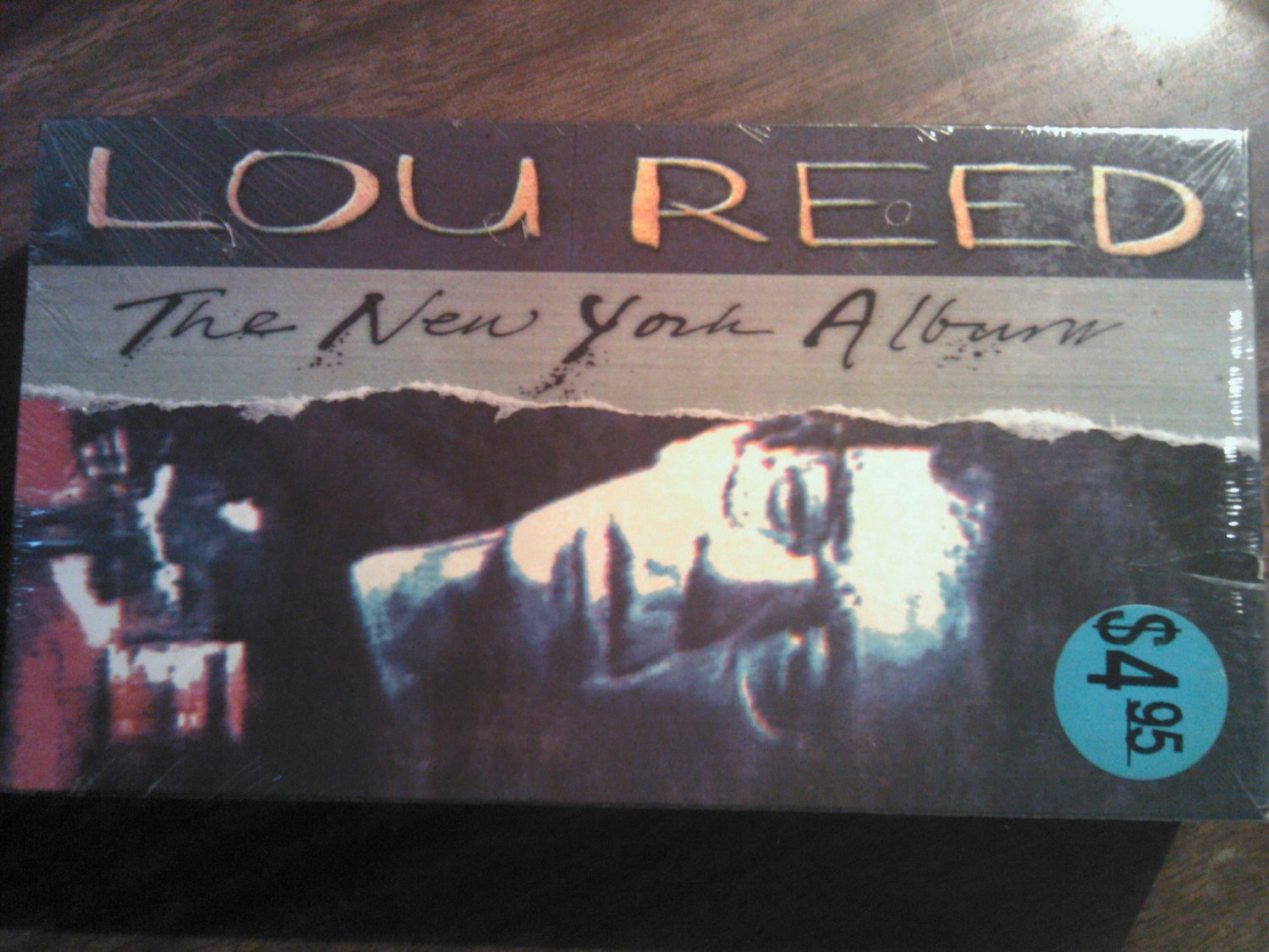 VHS LOU REED the New York Album rob wasserman live SEALED