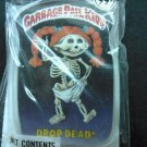 GPK PINBACK BUTTON Drop Dead! garbage pail kids VINTAGE