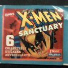 X-MEN ALBUM STICKERS Sanctuary xmen marvel trading cards SEALED PACK