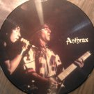 LP ANTHRAX Limited Edition Interview import vintage vinyl record PICTURE DISC