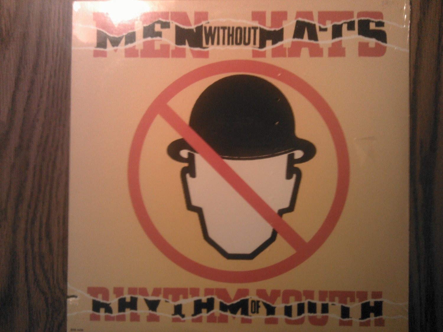 LP MEN WITHOUT HATS Rhythm of Youth safety dance vintage record SEALED
