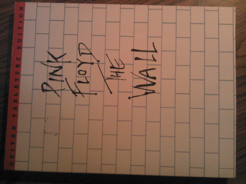 PINK FLOYD SONGBOOK The Wall guitar tablature song book TAB