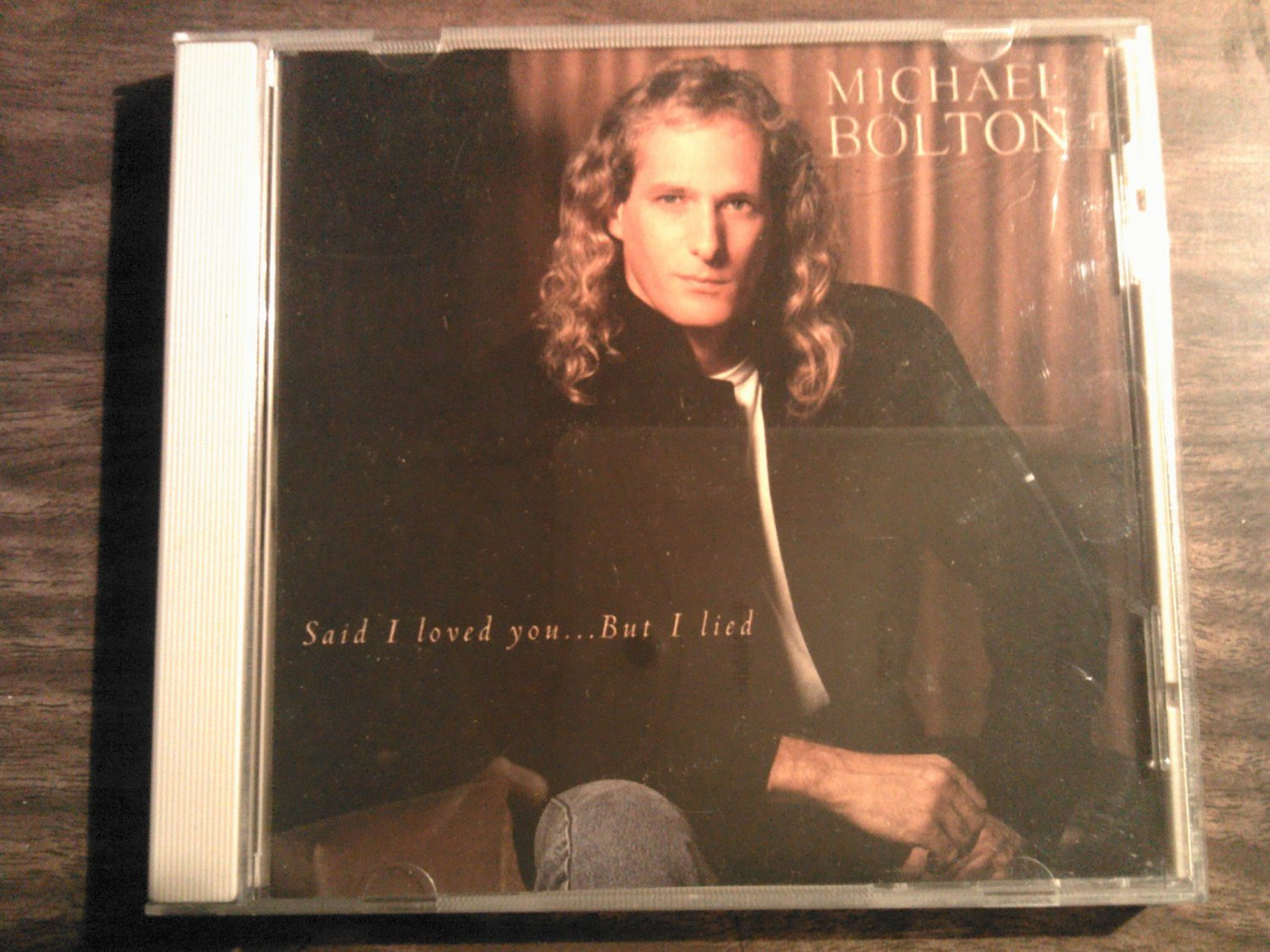CD MICHAEL BOLTON Said I Loved You But I Lied 2 tracks single