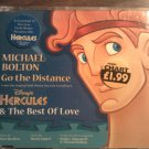 CD MICHAEL BOLTON Go The Distance disney hercules 3 tracks austria IMPORT