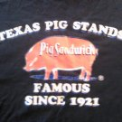 PIG STAND SHIRT Pig Sandwich san antonio texas 2XL XXL VINTAGE