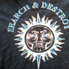HENRY ROLLINS SHIRT Search and Destroy black flag spoken word tour 2004 2XL XXL