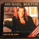 CD MICHAEL BOLTON Soul Of My Soul postcards post card 4 tracks IMPORT