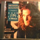 CD MICHAEL BOLTON When a Man Loves a Woman 1 track PROMO