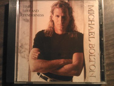 CD MICHAEL BOLTON Time Love and Tenderness 2 tracks PROMO