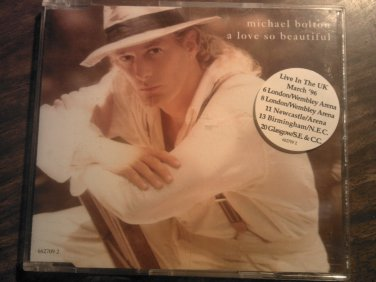 CD MICHAEL BOLTON A Love So Beautiful 4 tracks frankifunky single austria IMPORT