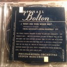 CD MICHAEL BOLTON Why Do You Wake Me opera single IMPORT PROMO SALE
