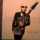JOE SATRIANI ALBUM FLAT Crystal Planet poster PROMO