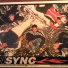 NSYNC STICKER glossy sitting group 1998