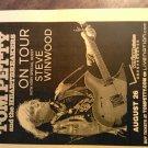 CONCERT FLYER Tom Petty steve winwood heartbreakers verizon 2008 texas SALE