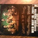 CONCERT FLYER Avenged Sevenfold three days grace bullet for my valentine texas 2011 SALE