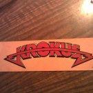 KROKUS STICKER red classic logo big bumper VINTAGE
