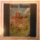 GRIM REAPER Rock You To Hell carnival mirror glass rock VINTAGE 80s
