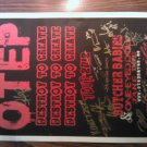 AUTOGRAPHED POSTER Otep Butcher Babies one-eyed doll jane doe heidi carla