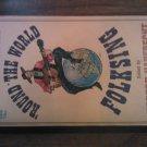 ROUND THE WORLD FOLKSING Herbert Haufrecht guitar 140 songs vintage paperback book 1964 1st Ed