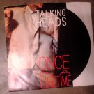 45 TALKING HEADS once in a lifetime b/w this must be the place vinyl record W/PICTURE SLEEVE