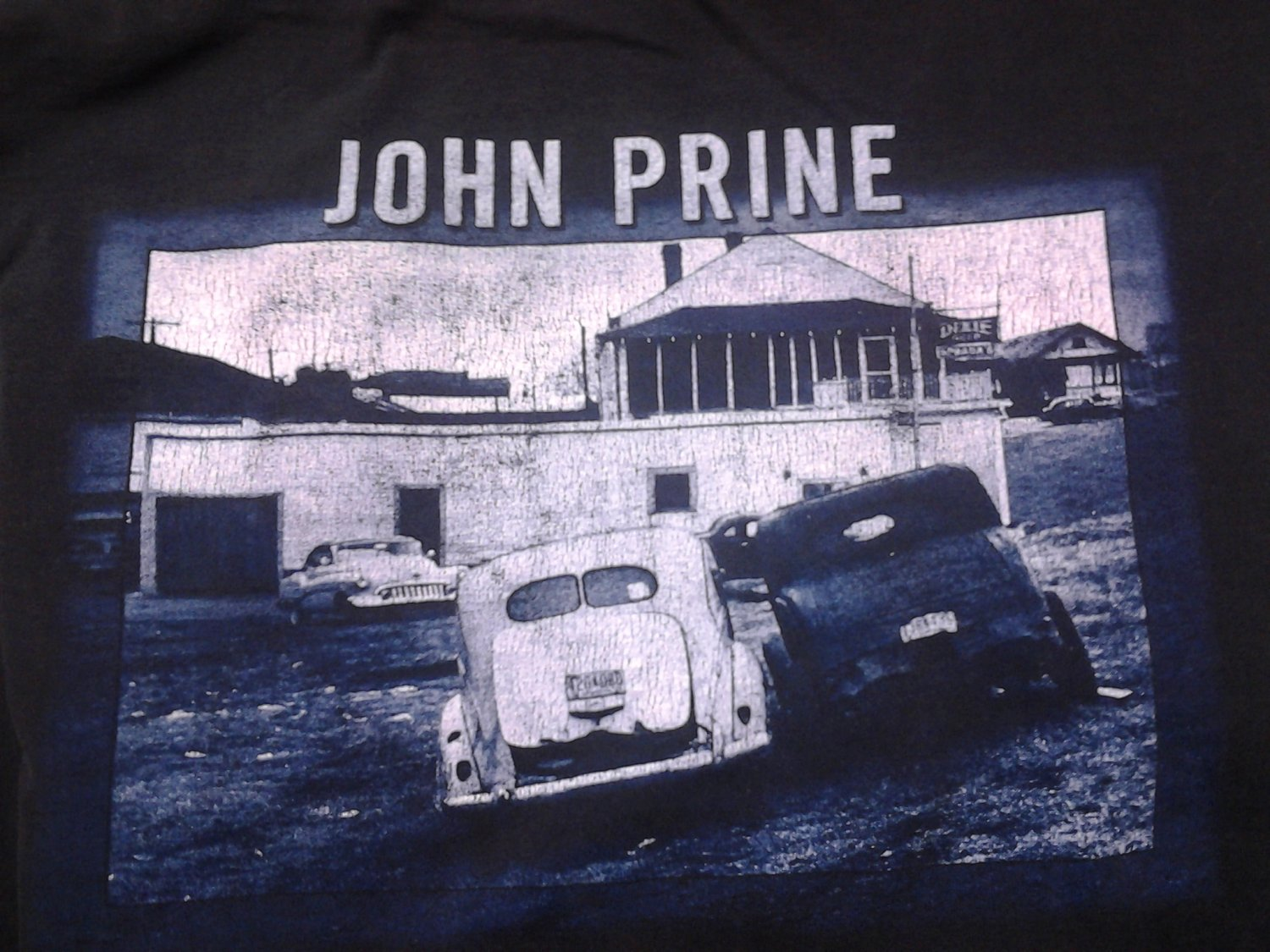 JOHN PRINE SHIRT In Spite Of Ourselves 2-sided XXL 2XL