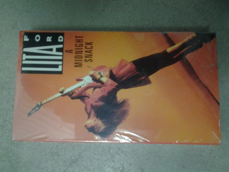 VHS LITA FORD A Midnight Snack runaways SEALED