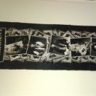 WARRANT FABRIC BANNER band pics long tapestry VINTAGE