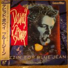 DAVID BOWIE VIDEODISC Blue Jean single video laser disc JAPAN