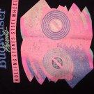 ROLLING STONES SHIRT 1989 Steel Wheels Tour budwieser longsleeve sweatshirt  XL VINTAGE