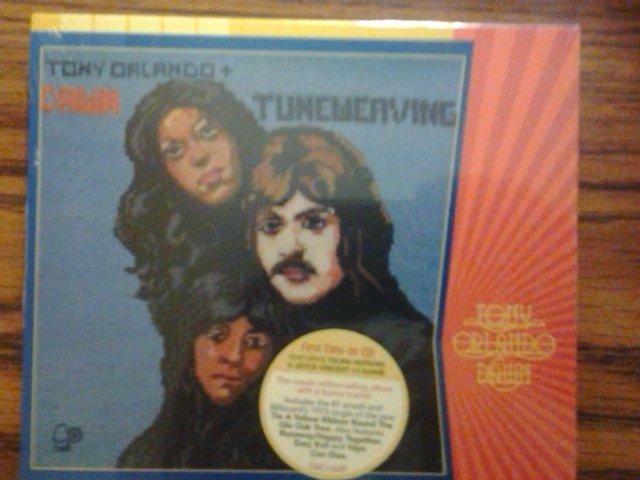 CD TONY ORLANDO & DAWN Tuneweaver tie a yellow ribbon SEALED