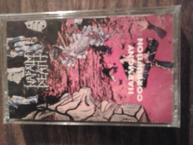 NAPALM DEATH cassette tape Harmony Corruption metal SEALED