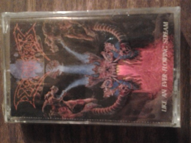 DISMEMBER cassette tape Like an Ever Flowing Stream metal SEALED