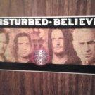 DISTURBED STICKER Believe group pic 2003 PROMO