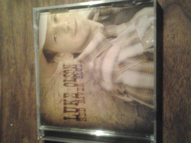 CD LUKE OLSON Red River Blue country SEALED