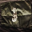 CARLSBERG BEER tote bag string backpack NEW PROMO