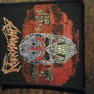 MONSTOSITY sew-on PATCH skull crave the blood exalted one 1993