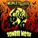 MONKEYSOOP SHIRT Zombie Mosh North American Tour san antonio texas NEW L