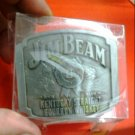 JIM BEAM metal belt buckle new PROMO